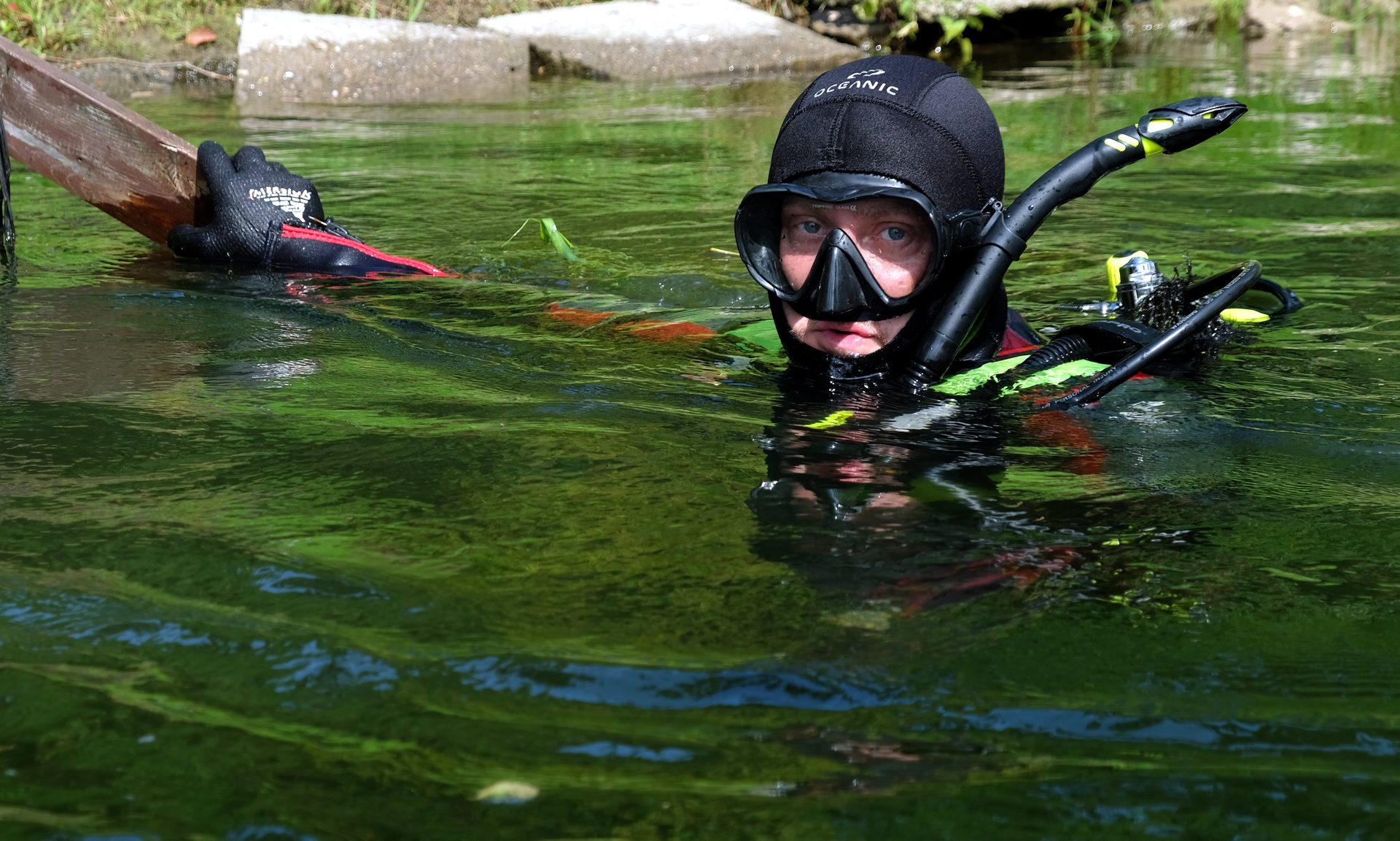 Rzeka Brda Rytel 2019 - sprzątanie
